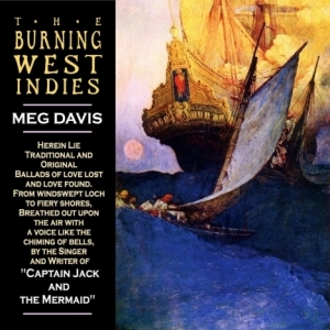 Meg Davis CD The Burning West Indies